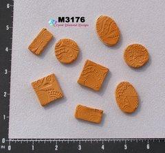 Orange  Do - Dads Filler Tiles Handmade Mosaic Tiles M3176