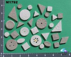 Grey Do - Dads Filler Tiles Handmade Mosaic Tiles M1792