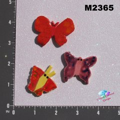 Assorted Butterflies Handmade Mosaic Ceramic Tiles M2365