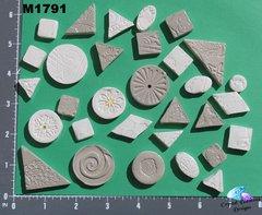 Grey Do - Dads Filler Tiles Handmade Mosaic Tiles M1791