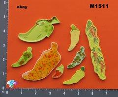 Hot Peppers Handmade Mosaic Tiles M1511