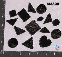 Black Do - Dads Filler Tiles Handmade Mosaic Tiles M2335