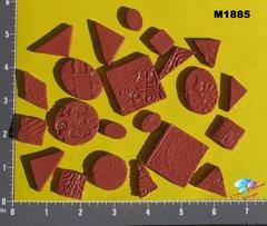 Rust Do - Dads Filler Tiles Handmade Mosaic Tiles M1885
