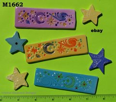 Stars and Border Tiles Handmade Mosaic Tiles M1662