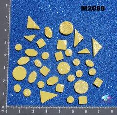 Yellow Do - Dads Filler Tiles Handmade Mosaic Tiles M2088