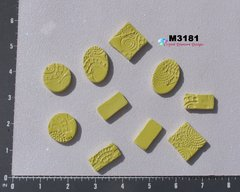 Yellow  Do - Dads Filler Tiles Handmade Mosaic Tiles For your Mosaic Projects M3181