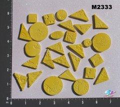 Yellow Do - Dads Filler Tiles Handmade Mosaic Tiles M2333