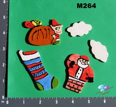 Christmas Handmade Mosaic Ceramic Tiles for your Projects M264