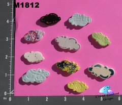 Assorted Clouds Handmade Mosaic Tiles M1812