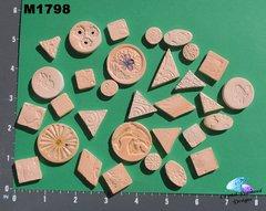Light Orange Do - Dads Filler Tiles Handmade Mosaic Tiles M1798