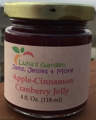 Apple-Cinnamon Cranberry Jelly