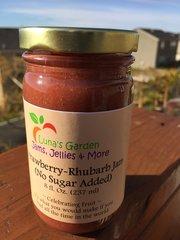 Strawberry-Rhubarb Jam (No Sugar Added)