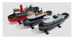 Complete set of 3 Texaco Tugboat Die-cast Models / Coin Banks