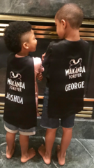 Personalized Wakanda Forever Satin Capes
