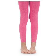Microfiber Footless Tights - Bubblegum Color