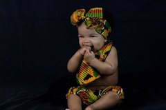 SPECIAL - Kente Skirt Set