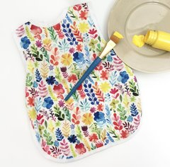 Handcrafted - Floral Full Coverage Baby/Toddler Apron