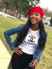 Fun Teen Chanel Bella + Canvas Jersey Tee