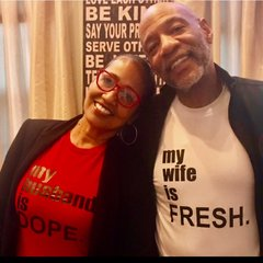 my husband is DOPE Bella + Canvas Jersey Tee - For every tee purchase we donate $5.00 to St. Jude