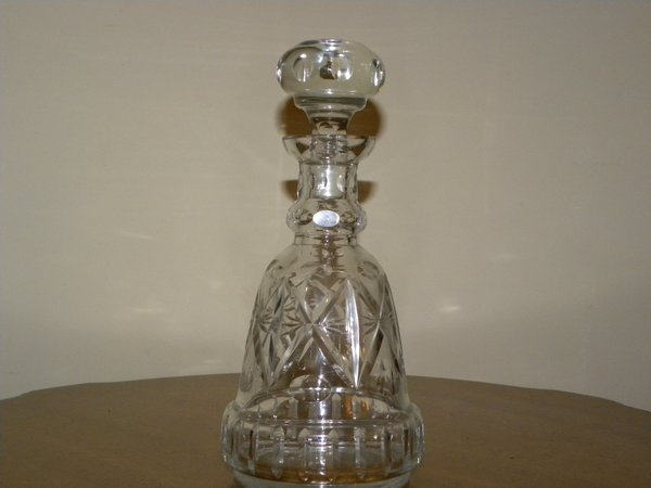 Vintage cut glass decanter vintage on fire How can i cut glass at home