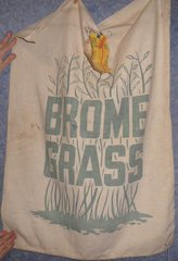 "Feed Sack ""Brome Grass"" B4866"