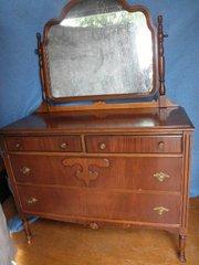 Dresser with Mirror B5182