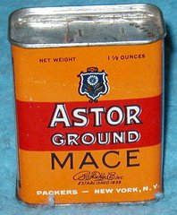 Tin, Astor Ground Mace B2733