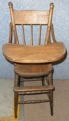 Highchair Antique B5042
