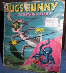 Book - Bugs Bunny in Something Fishy B4771