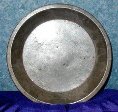 Pie Plate, Metal B2666