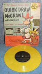 Record 78 RPM - Quick Draw McGraw B4958
