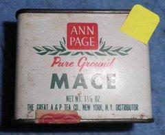 Spice Tin, Ann Page's, Mace B3892