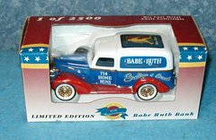 Babe Ruth Bank - Truck - Red, White and Blue B3164