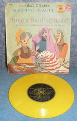 Record 78 RPM - Sleeping Beauty also Sing a Smiling Song B4944