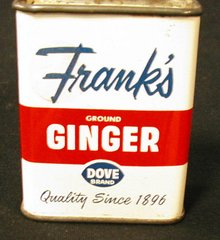 "Tin, ""Frank's"" Ginger B587"