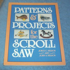 Vintage Book - Patterns and Projects for Scroll Saw B4353