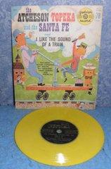 Record 78 RPM - Atchenson Topeko and Santa Fe B4966