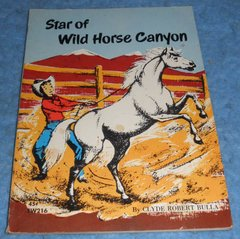 "Book ""Star of Wild Horse Canyon"