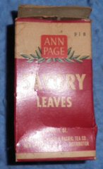 Spice Box, Ann Page's, Savory Leaves B3893