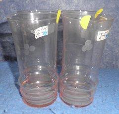 Glasses - Set Of 4 - Pink B217