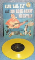 Record 78 RPM - Blue Tail Fly and Big Rock Candy Mountain B4951