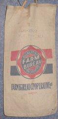 """Feed Sack """"Farm Bureau"""" B4864"""