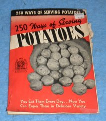250 Ways of Serving Potatoes Cookbook B5846