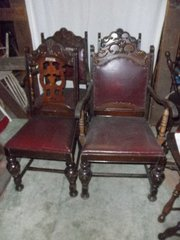 B3291  Vintage/Antique Set of 4 Chairs