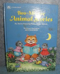 Book - Two Minute Animal Stories B4890
