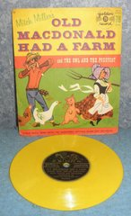 Record 78 RPM - Old McDonald Had a Farm B4943