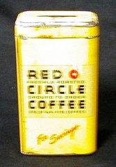 Bank - Red Circle Coffee B867