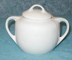 "Sugar Bowl - White - ""Made In Germany"" B2904"