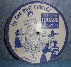 Record 78 RPM - Square Dancing B4985