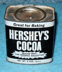 "Tin, ""Hershey's Cocoa"" B2707"